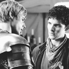 """The worry on Merlin's face for Arthur.... I can't."""