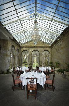 The splendid Victorian Orangery.