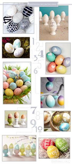 10 creative ideas for decorating easter eggs