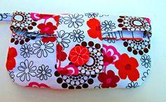 Cosmetic Bag, Makeup Bag, Organizer bag, Wristlet, Clutch, Travel Bag #etsy  #etsymnt