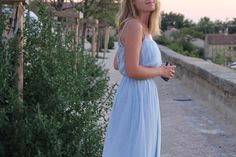 Blue Bags, Baby Blue, Personal Style, Backless, Formal Dresses, Fashion, Moda, Formal Gowns, Fasion