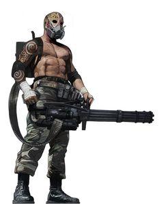 Ganger Heavy - Hive Ganglife - Warhammer 40.000 - Necromunda - Dark Heresy