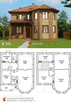 European House Plans, My House Plans, House Of Beauty, Minecraft Designs, Facade House, Design Case, Own Home, Sims, Floor Plans