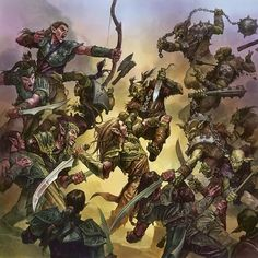 art in Elves vs. Goblins : Daily MTG : Magic: The Gathering