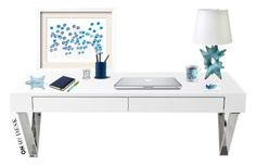 """""""On my desk"""" by anaalex ❤ liked on Polyvore featuring interior, interiors, interior design, home, home decor, interior decorating, Kate Spade, Diptyque and onmydesk"""