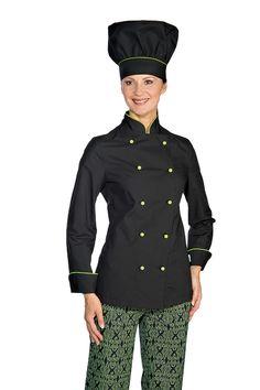 veste de cuisine femme sushi collection - blouse de cuisine ... - Blouse De Cuisine Femme