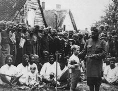 1915 :: Indian Soldiers Presenting Gift to Belgian Boy in Ypres , Belgium