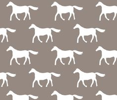 Brown Horses fabric by alihenrie on Spoonflower - custom wallpaper Horse Wallpaper, Cute Wallpaper Backgrounds, Custom Wallpaper, Cute Wallpapers, Horse Background, Horse Fabric, Brown Horse, Horse T Shirts, Textile Design
