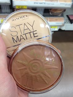 Rimmel Stay Matte pressed powder and Natural Bronzer #RimmelRealBeauty #shop #cbias  Honestly the Rimmel Stay Matte pressed powder is my go to powder. It's the best one that I've tried so far. Awesome Matte finish