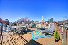 Private in Park Slope ...  Private North Slope 2BR+ condo w/ 320sf Private roof deck. If natural light and space are your delight then Apartment 3 at 645 Warren St is the home for you. Nestled in a beautiful wide brick federal on prime North Slope tree lined Street. See more at www.halstead.com/12177983