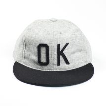e3005587922 OK Grey and Black Wool Hat via store.myblueseven.com  54.97