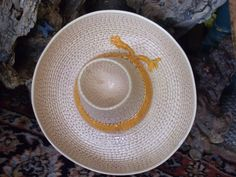 Sombrero Chips and Salsa Bowl /  Great by Daysgonebytreasures, $18.00