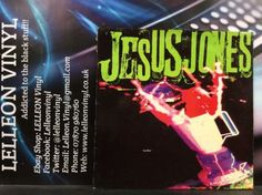 Jesus Jones Liquidizer LP Album Vinyl Record FOODLP3 A1U/B1U Pop 80's Music:Records:Albums/ LPs:Pop:1980s