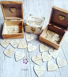 Items similar to Personalised Valentine's day Gift 10 Reasons why I love you wooden box Pyrography on Etsy Gifts For Hubby, Diy Gifts For Boyfriend, Surprise Boyfriend, Boyfriend Boyfriend, Bestie Gifts, Birthday Goals, Cute Birthday Gift, Wooden Box Crafts, Wooden Boxes
