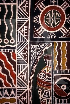 #print #pattern #Inspiração - Batik at National Gallery, Harare, Harare Province, Zimbabwe, Africa
