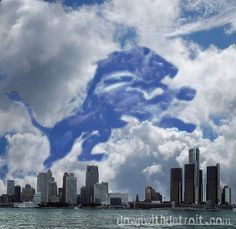 Let's Go Lions!!  Get cool Detroit football gear at www.downwithdetroit.com