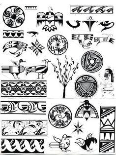 Native American Gallery: Native American Indian Symbols ID-002