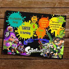 38 best birthday splatoon images on pinterest splatoon squid