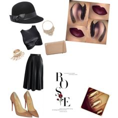 A fashion look from October 2015 featuring Chicwish skirts, Christian Louboutin pumps and Hobbs clutches. Browse and shop related looks.