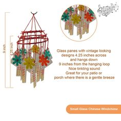 Best Chinese Feng shui glass wind chimes | Bqpsite