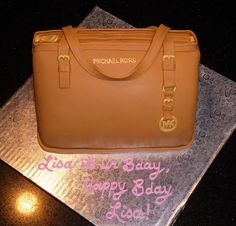 Michael Kors Purse Cake | 3D Michael Kors Bag Cake
