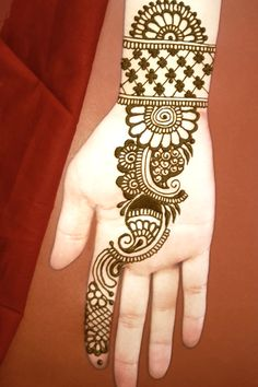 simple mehndi design you can learn it very easily . Simple Mehndi Designs Fingers, Latest Simple Mehndi Designs, Mehndi Designs For Kids, Henna Tattoo Designs Simple, Mehndi Designs Feet, Full Hand Mehndi Designs, Mehndi Designs Book, Mehndi Designs For Beginners, Mehndi Simple