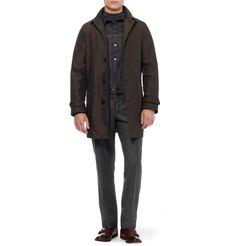 SlowearIncotex Straight-Leg Wool Trousers