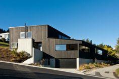 maison en bois de design original par kerr ritchie