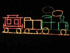 how to build a christmas light train : amx4perry's channel - youtube - Dec 2009