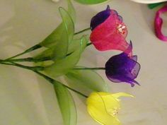 pantyhose flowers | How to Make Nylon Flower