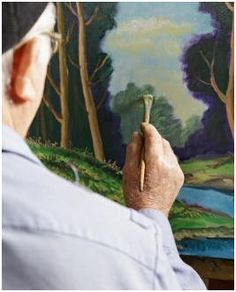 Free Landscape Painting Lessons - Learn how to paint oil, acrylic or watercolor landscapes. Teach yourself, at home and at your own pace, with the help of these free, online lessons.