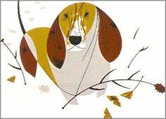 Charley Harper - Bassett: Domestic Animals