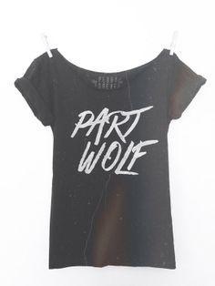 { Part Wolf Tee }