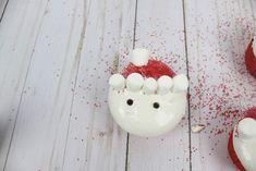 These Santa cupcakes