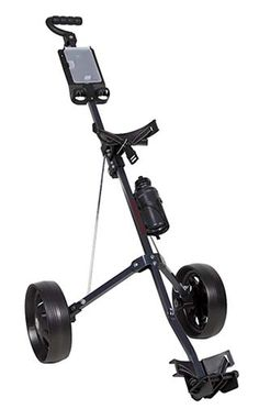 The anti -slide tires on this great value courier lite 2 wheel golf pull cart by Pinemeadow provide excellent maneuverability no matter what the terrain is like! Cheap Golf Carts, Golf Gadgets, America's Funniest Home Videos, Golf Push Cart, Golf Club Grips, Golf Trolley, Mens Golf Outfit, Used Golf Clubs, Golf Club Sets