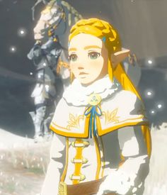 Zelda's winter outfit is wicked cute!>>>>>>> when my sister saw it she was like I want . The Legend Of Zelda, Legend Of Zelda Breath, Saga, Princesa Zelda, Link Art, Link Zelda, Wind Waker, Twilight Princess, Breath Of The Wild