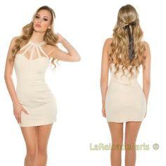 8eb42c9998 Comprar Vestido corto ajustado con tiras desing online Vestidos ajustados  cortos