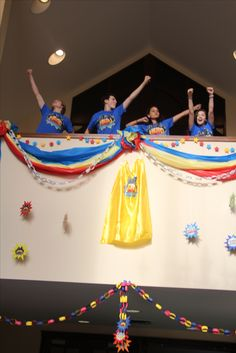 Power-Up! Become a decorating hero for your VBS Hero Central in 2017! cokesburyvbs.com