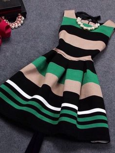 New Arrivals Vestidos 2017 Summer O-Neck Sleeveless Print Casual Dresses Women Vintage Princess Dress Ladies Party Clothing Dress Outfits, Fashion Dresses, Cute Outfits, Pretty Dresses, Beautiful Dresses, Dress Skirt, Dress Up, Swag Dress, Dress Shoes