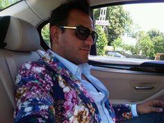 flower/fashion/blazer/men