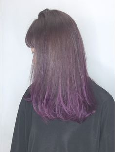 Hairstyles Haircuts, Cool Hairstyles, Lavender Hair, Hair Color Purple, Stylish Hair, Hair Pictures, Hair Highlights, Ombre Hair, Hair Inspo