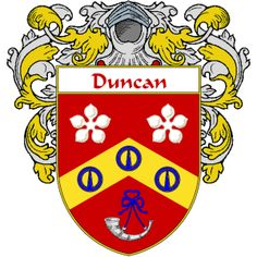 Duncan Coat of Arms   namegameshop.com has a wide variety of products with your surname with your coat of arms/family crest, flags and national symbols from England, Ireland, Scotland and Wale