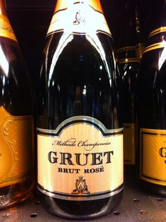 Those who know me well know that Gruet Brut Rose is my absolute go-to—and not that easy to find these days!