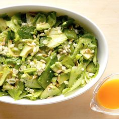 Romaine Salad Recipes With Avocado.Mexican Caesar Salad With Creamy Avocado Dressing Flavor . Vegetarian Italian Chopped Salad Cookie And Kate. Crunchy Green Salad With Dilly Chickpeas And Avocado . Lettuce Recipes, Avocado Salad Recipes, Easy Salad Recipes, Healthy Recipes, Avocado Dishes, Healthy Food, California Salad, California Recipe, Balsamic Chicken Pasta