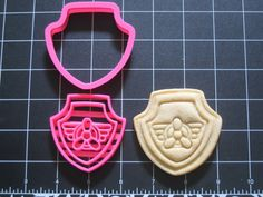Look at this really cool cookie cutter set! I really adore it! Paw Patrol Skye Helicopter Cookie Cutter Stamp Set Propeller Pink Bpa Free