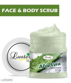 Face Premium Choice Face Care Cream Scrub  *Product Name* Luster Aloe Vera Skin Nourishing Face & Body Cream Scrub  *Product Type* Cream Scrub  *Capacity* 500 ml  *Description* It Has 1 Pack Of Face & Body Cream Scrub  *Sizes Available* Free Size *   Catalog Rating: ★4.4 (2104)  Catalog Name: Sensational Choice Face Care Products Vol 7 CatalogID_104427 C52-SC1251 Code: 661-893465-
