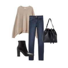 f68a6f993945 Fall Capsule Wardrobe Outfit Ideas. Fall Wardrobe EssentialsFall Capsule  WardrobeSemi Casual Outfit WomenCasual ...