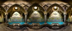 イスラム教の礼拝堂「モスク」の内観をパノラマで収めて圧倒的な美しさを示した写真集 - GIGAZINE