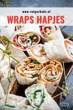 Pizza Wraps, Tea Snacks, Midnight Snacks, Fabulous Foods, Fresh Rolls, Stir Fry, Bruschetta, Tapas, Brunch