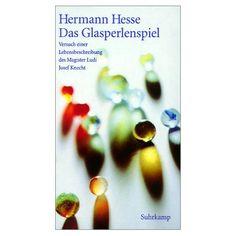Glasperlenspiel, Glass Bead Game, my second favorite of Hermann Hesse
